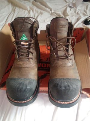 """""""Red Wings Worx Boots """" Stylish, Safe, and Rugged Steeltoed Work boots for Sale in St. Louis, MO"""