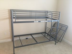 Metal bunk bed for Sale in St. Petersburg, FL
