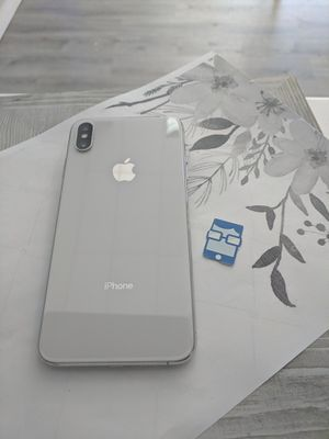 Apple iPhone X 64GB Unlocked for Sale in Seattle, WA