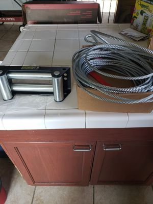 Winch roller and cable for Sale in Chula Vista, CA