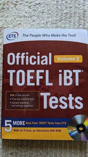 TOEFL Nine Books for Sale in Bellevue, WA