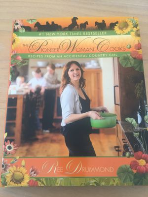 Pioneer woman cookbook for Sale in Weston, MA