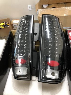 '07-'14 GMC Yukon & Denalis//IPCW Black LED Tail Lights for Sale in Orlando, FL