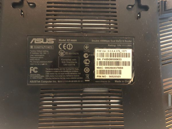 Asus RT-N66R Dual-Band Wireless-N900 Gig Router
