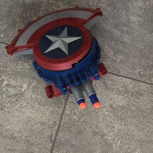 Captain America Nerf Gun Shield for Sale in Mesa, AZ