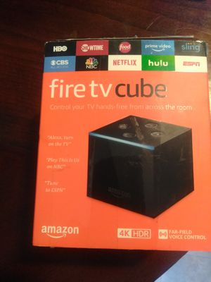 AMAZON FIRE TV CUBE for Sale in Manvel, TX