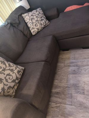 Dark gray couch for Sale in Boca Raton, FL
