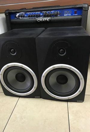M Audio Studiophile studio monitor speaker pair for Sale in Baldwin Park, CA
