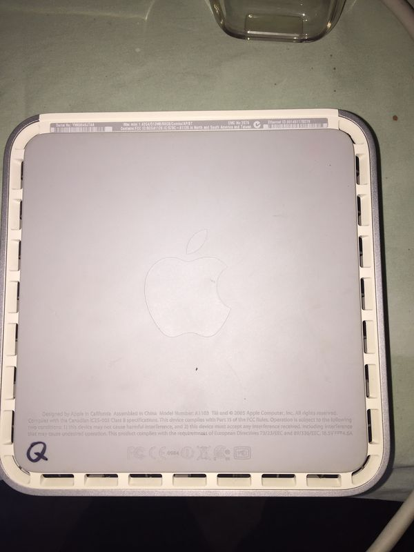 """Apple computer with 17"""" monitor"""