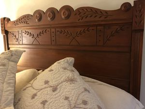 Antique Cherry Bed and Dresser for Sale in Seattle, WA