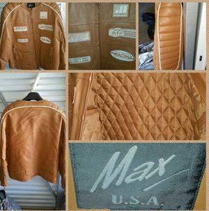Like new Leather Motocross Motorcycle Racing Jacket for Sale in Snellville, GA