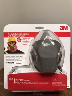 3M Reusable All-Purpose Valved Safety Mask for Sale in Marysville, WA