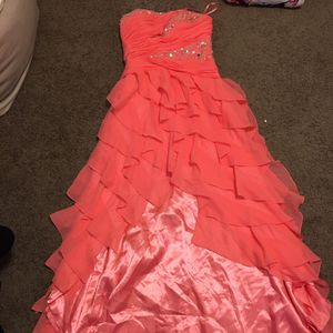 Salmon Prom Dress for Sale in Woodland, CA