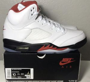 Air Jordan 5 Fire Red 2020 Size 10 SNKRS 100% AUTHENTIC Deadstock OG All CHECK OUT OCSNEAKERS ON EBAY for Sale in Santa Ana, CA