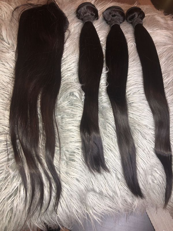 Pink Empress Brazilian Straight Hair