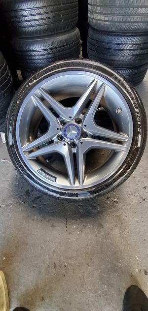 Amg rims, Mercedes wheels, c class rims for Sale in Anaheim, CA