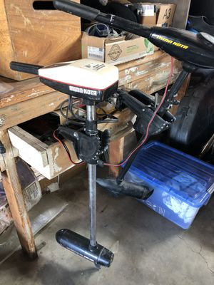Minn Kota Electric Trolling Motor Outboards $40 & $80 for Sale in Fullerton, CA