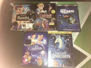 5 Children's DVD's for $15 for Sale in Stanton, CA