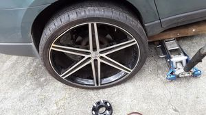 26s inch rims chevy bolt pattern for Sale in Atlanta, GA