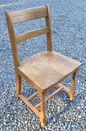 Vintage Single Wood Toddler Child Children Kids Chair for Sale in Chapel Hill, NC