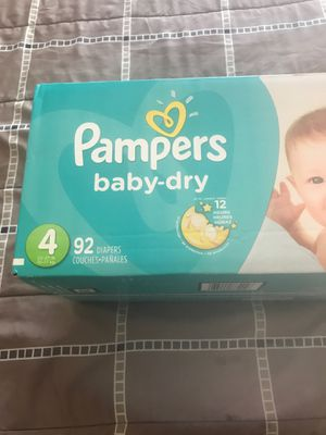 Pampers size 4 $24 for Sale in Arlington, TX
