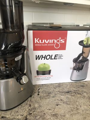 Kuvings Whole Elite Juicer Silver C7000S for Sale in Cornelius, NC