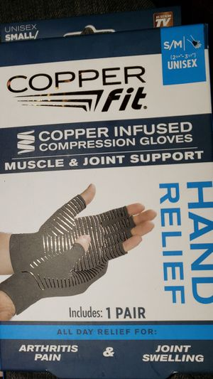COPPERFIT COMPRESSION GLOVES for Sale in Greenwood, IN