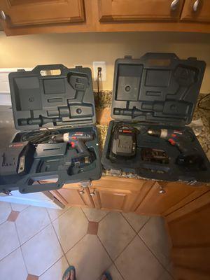 2 BOSCH Drills for Sale in Manassas, VA
