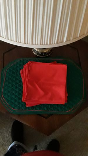 Placemats & Napkins **FREE** for Sale in Tulsa, OK