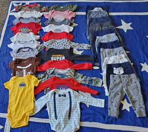 Baby boy clothes lot 31 pieces for Sale in Lockport, NY
