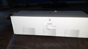 Google wifi 3 wifi points AC1200 routers. Model No.1304 for Sale in Silver Spring, MD