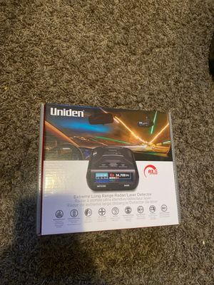 Uniden extreme long range radar for Sale in Cudahy, CA