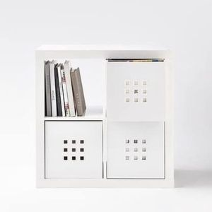 IKEA LEKMAN 102.471.38 two Box, White, unopened. Store price each is $37.99 Color-White Material-Polyester Brand-IKEA Item Dimensions LxWxH-14.96 x for Sale in Queens, NY