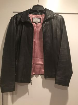 Black leather jacket for Sale in San Francisco, CA