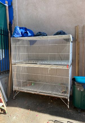 Large bird cages for Sale in Los Angeles, CA