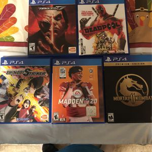 All Games In Pic for Sale in Newport News, VA
