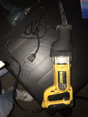 Dewalt reciprocating saw for Sale in Fife, WA
