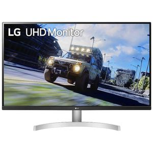 LG 32UN500-W 32 Inch UHD (3840 x 2160) VA Display with AMD FreeSync, DCI-P3 90% Color Gamut, HDR10 Compatibility, and 3-Side Virtually Borderless Desi for Sale in Houston, TX