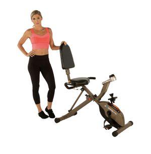 Exerpeutic gold 525XLR folding 400 Ib maximum capacity recumbent exercises bike for Sale in Austin, TX