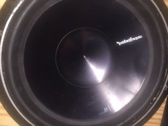 """15"""" P3 Rockford Subwoofer for Sale in Springfield,  IL"""