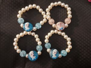 Girls bracelet lot $10 for 4 Frozen Elsa Mermaid Hello Kitty for Sale in Alpharetta, GA