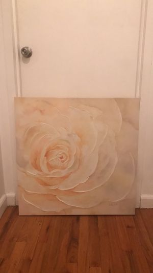 Original Rose painting for Sale in New York, NY