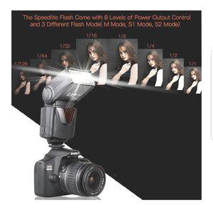 Speedlite Flash, SAMTIAN Professional Camera speedlight Flash for Sale in Miami Beach, FL