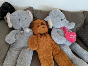 Big stuffed animals for Sale in Rancho Cordova, CA