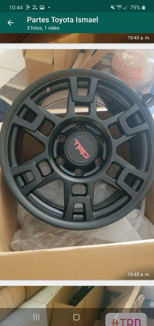 "Toyota TRD Rim (QT.4), Black, Fits 1995-2020 Tacoma 2007-2015 FJ Cruiser 1995-2018 4Runner 17"" x 7"" TRD Matte Blacl Wheel for Sale in Miami, FL"