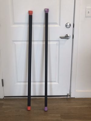 15and 6 lbs. padded exercise/stretching bar for Sale in Salt Lake City, UT