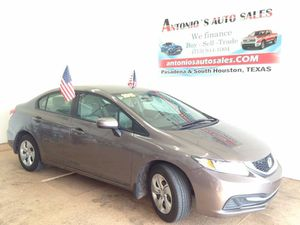 2015 Honda Civic LX for Sale in South Houston, TX