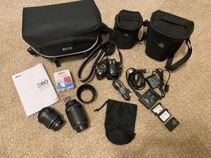 Nikon D60 DSLR Camera Lens Cases Lot for Sale in Lodi, CA