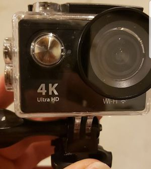 Ultra HD Similiar to Go Pro with Waterproof Case and tripod attachment for Sale in Lancaster, OH