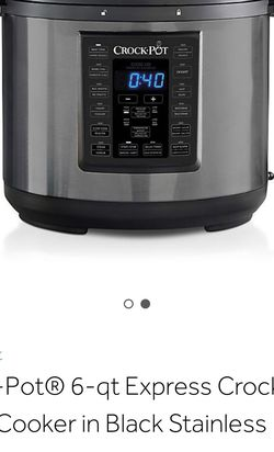 Crock Pot 6qt Express Cook for Sale in Deltona,  FL